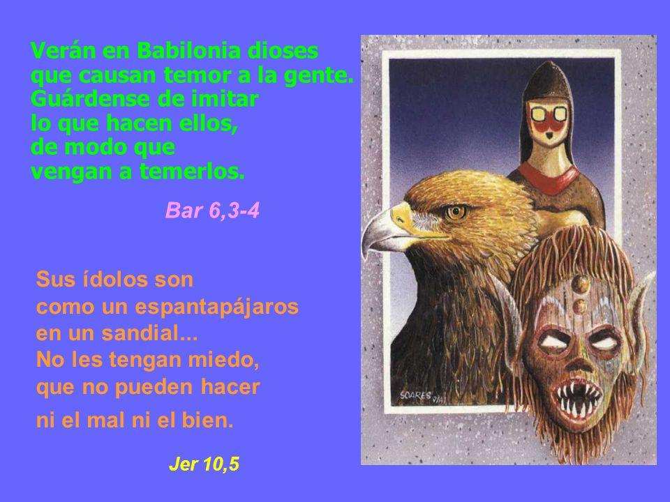 Verán en Babilonia dioses que causan temor a la gente