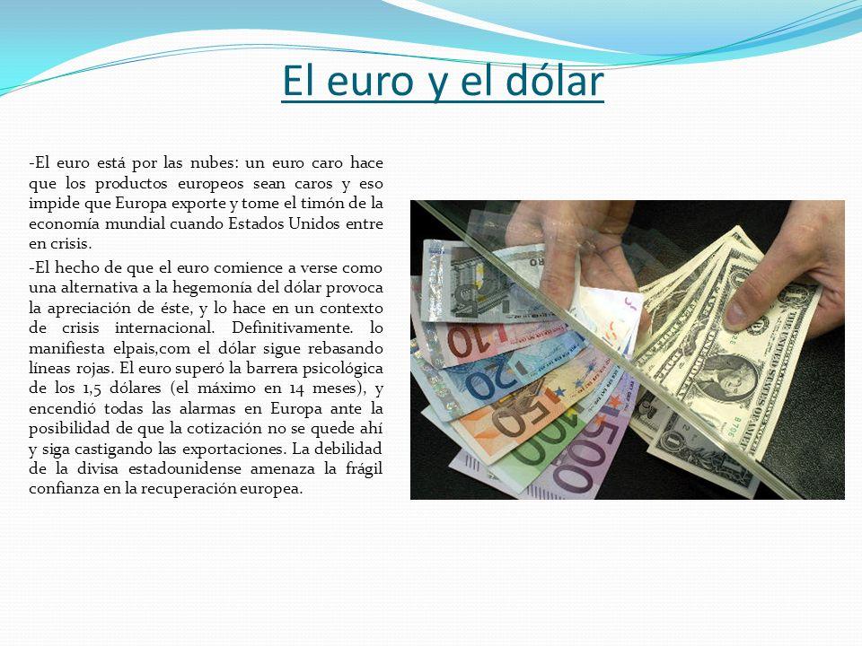 El euro y el dólar