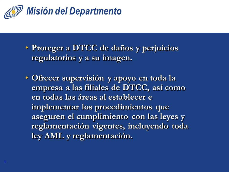 Misión del Departmento