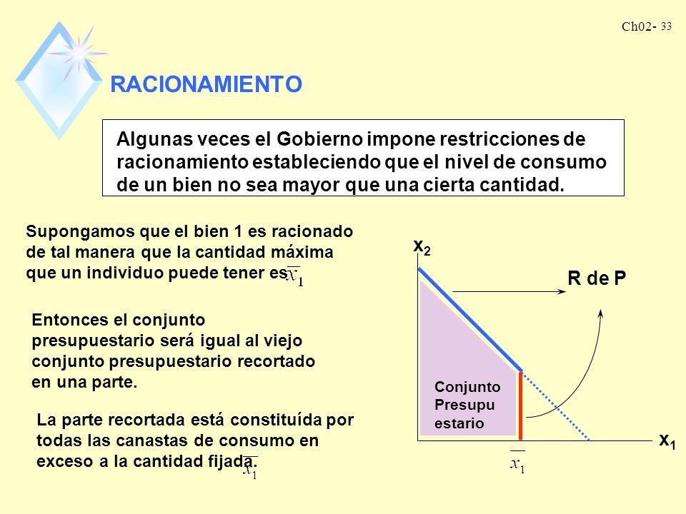 RACIONAMIENTO