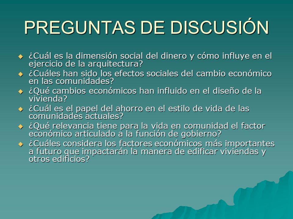 PREGUNTAS DE DISCUSIÓN