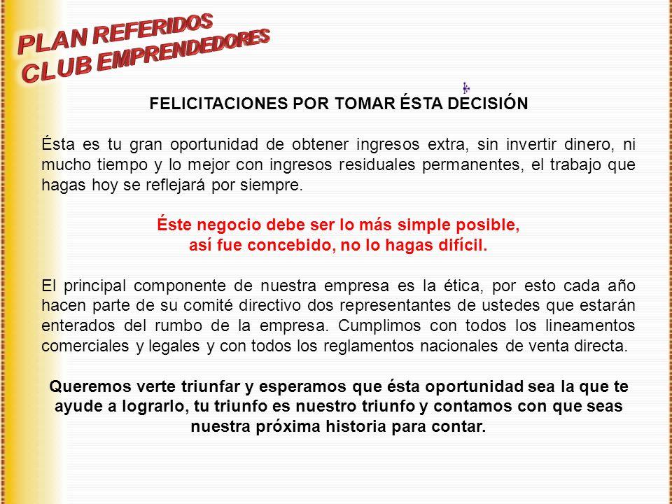 PLAN REFERIDOS CLUB EMPRENDEDORES