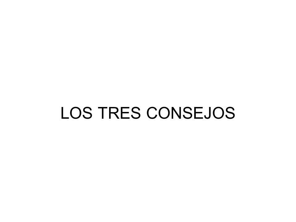 LOS TRES CONSEJOS