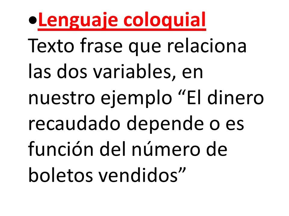 Lenguaje coloquial