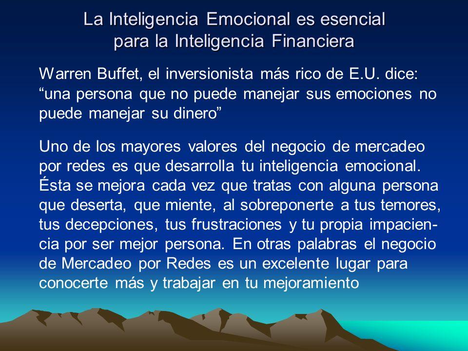 La Inteligencia Emocional es esencial para la Inteligencia Financiera