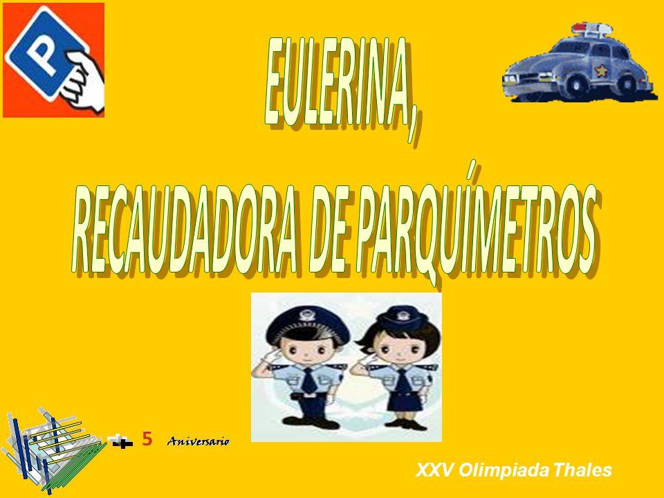 RECAUDADORA DE PARQUÍMETROS