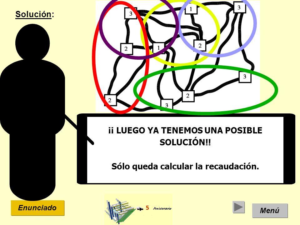 ¡¡ LUEGO YA TENEMOS UNA POSIBLE SOLUCIÓN!!