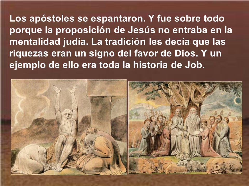 Los apóstoles se espantaron