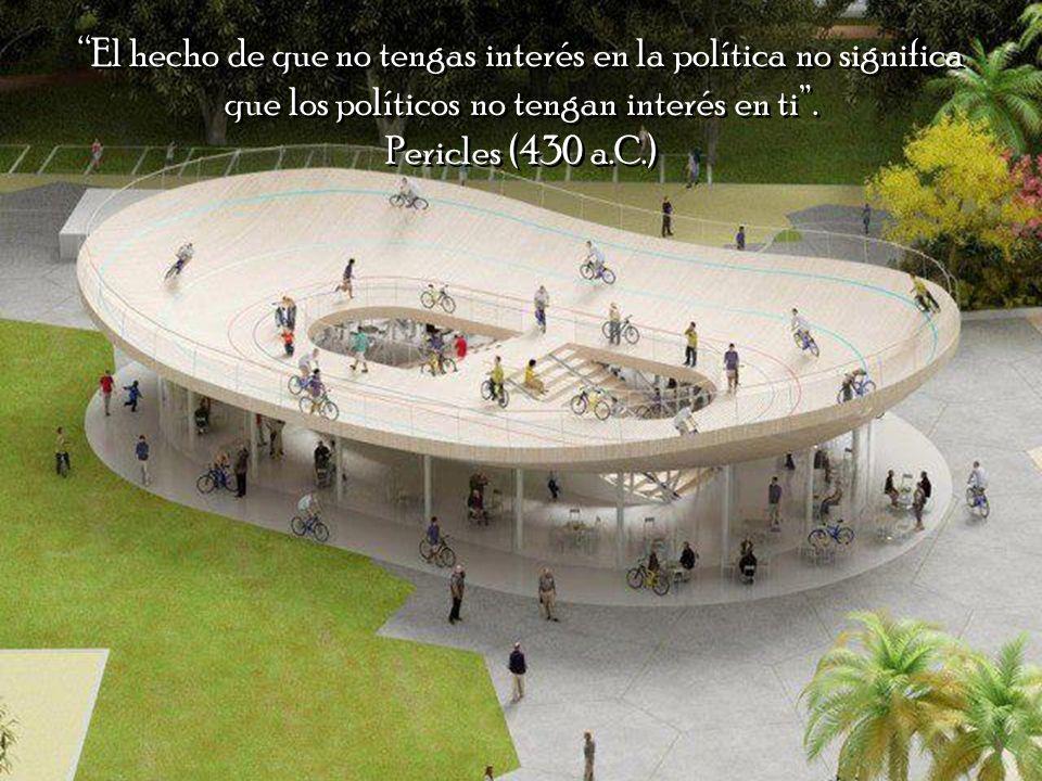 El hecho de que no tengas interés en la política no significa que los políticos no tengan interés en ti .