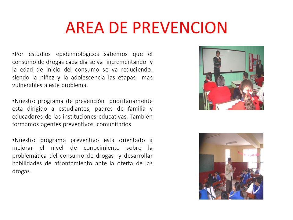 AREA DE PREVENCION