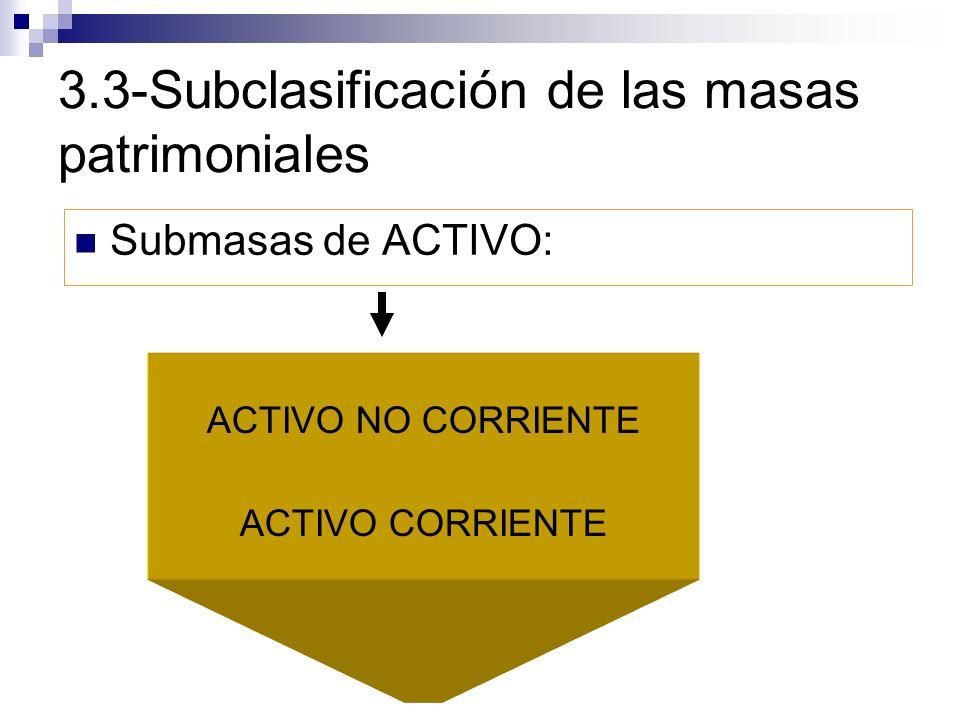 3.3-Subclasificación de las masas patrimoniales