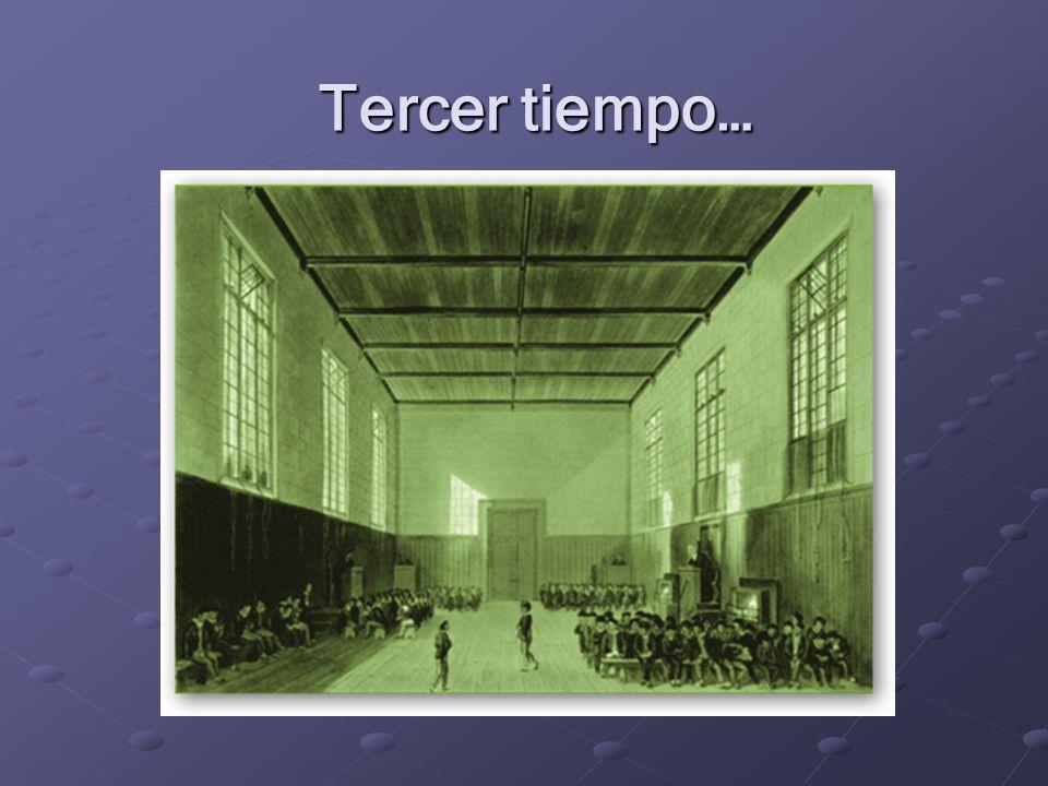 Tercer tiempo…