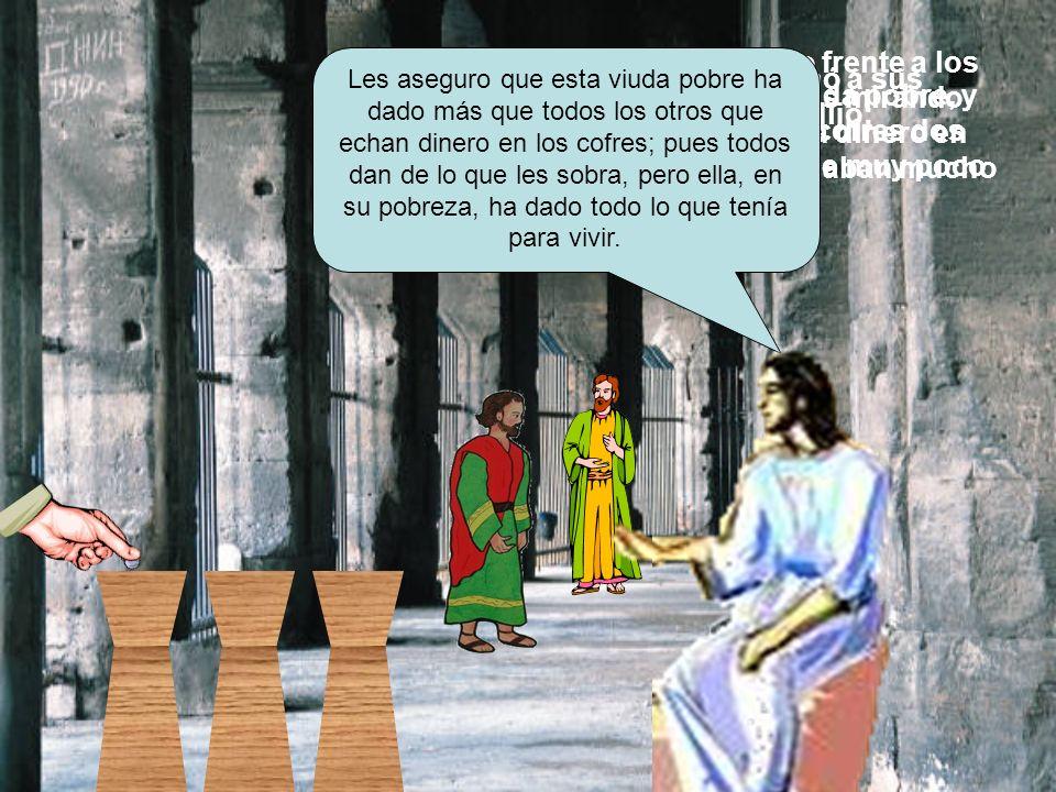 Entonces Jesús llamó a sus discípulos y les dijo: