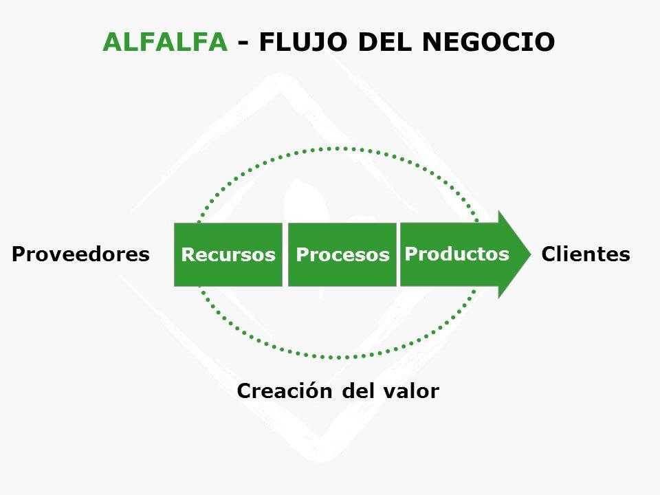 ALFALFA - FLUJO DEL NEGOCIO