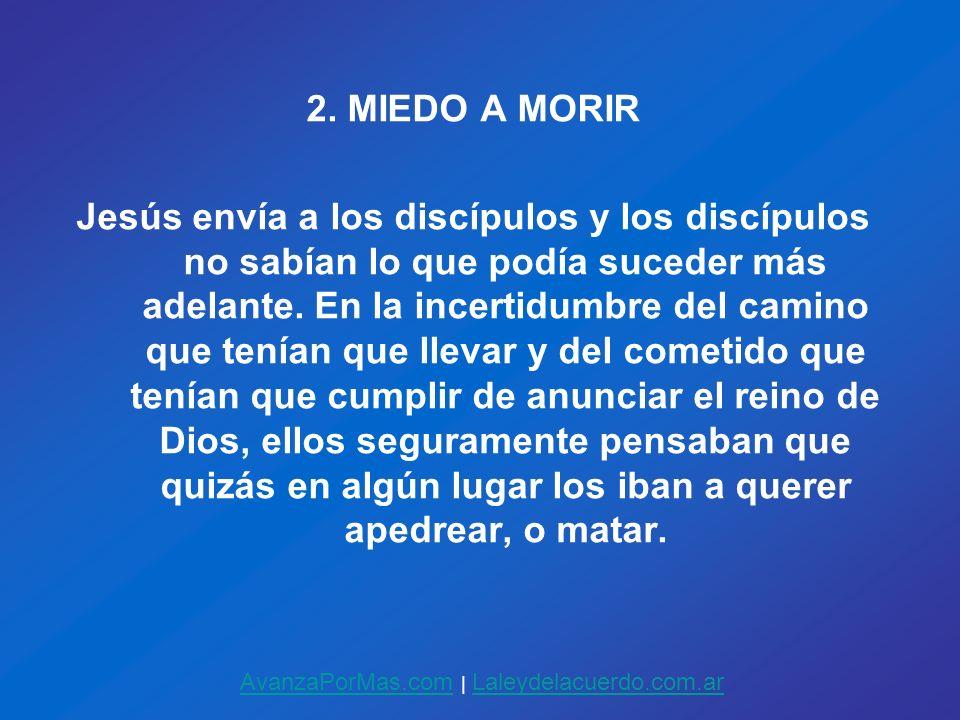 2. MIEDO A MORIR