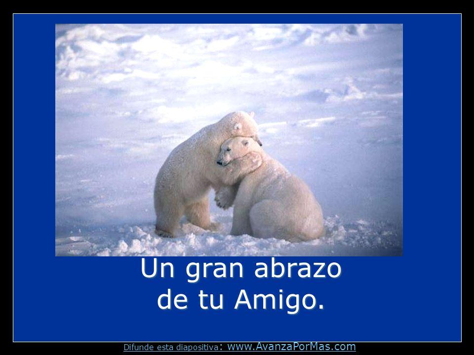 Un gran abrazo de tu Amigo.