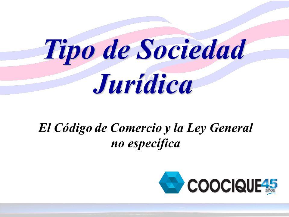 Tipo de Sociedad Jurídica