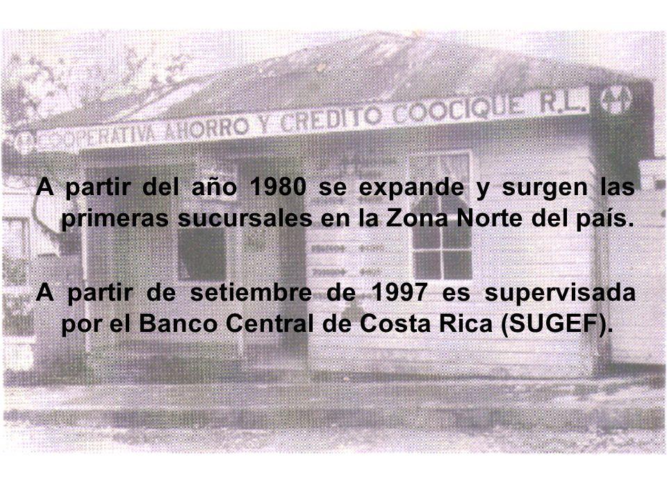 A partir del año 1980 se expande y surgen las primeras sucursales en la Zona Norte del país.