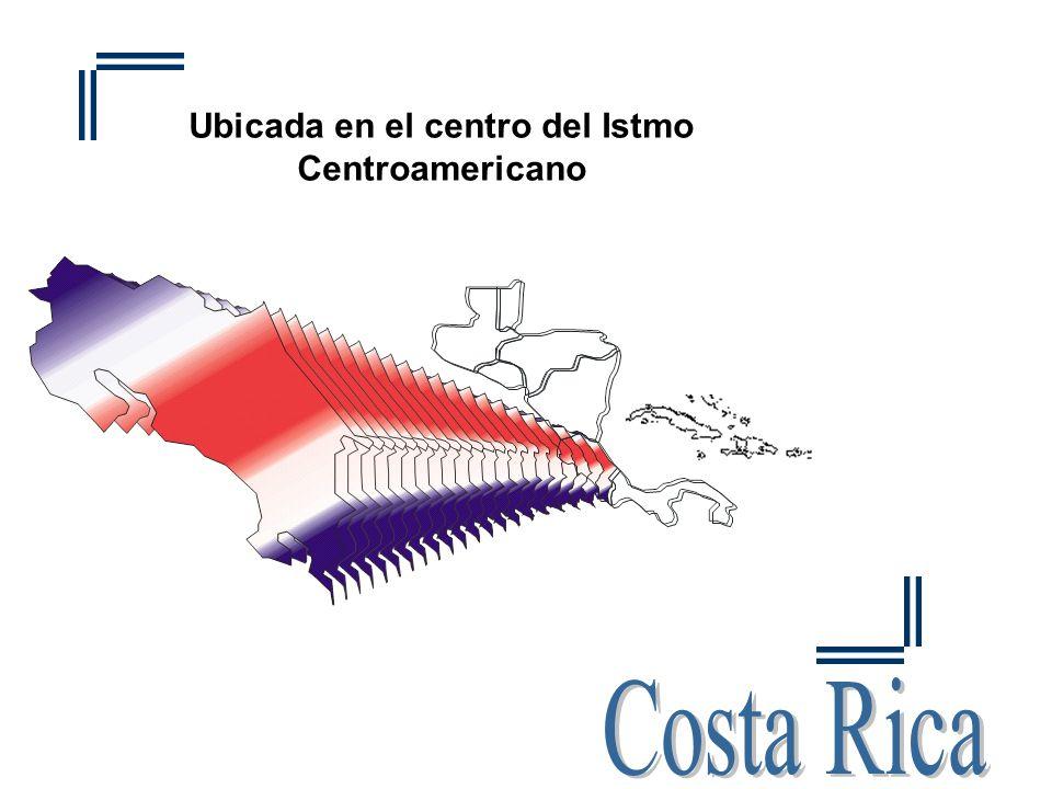 Ubicada en el centro del Istmo Centroamericano
