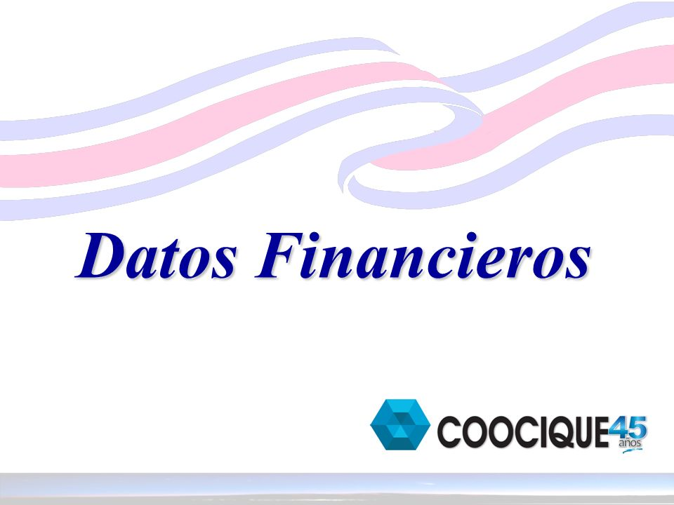 Datos Financieros