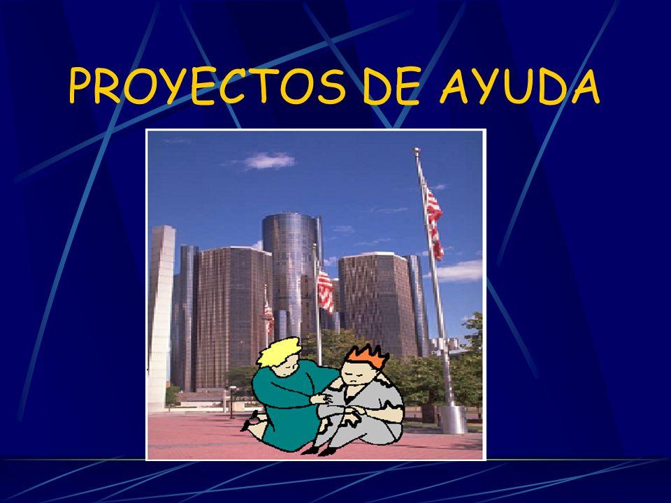 PROYECTOS DE AYUDA