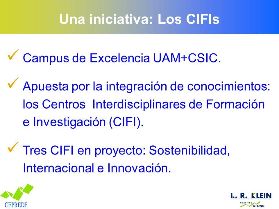 Una iniciativa: Los CIFIs