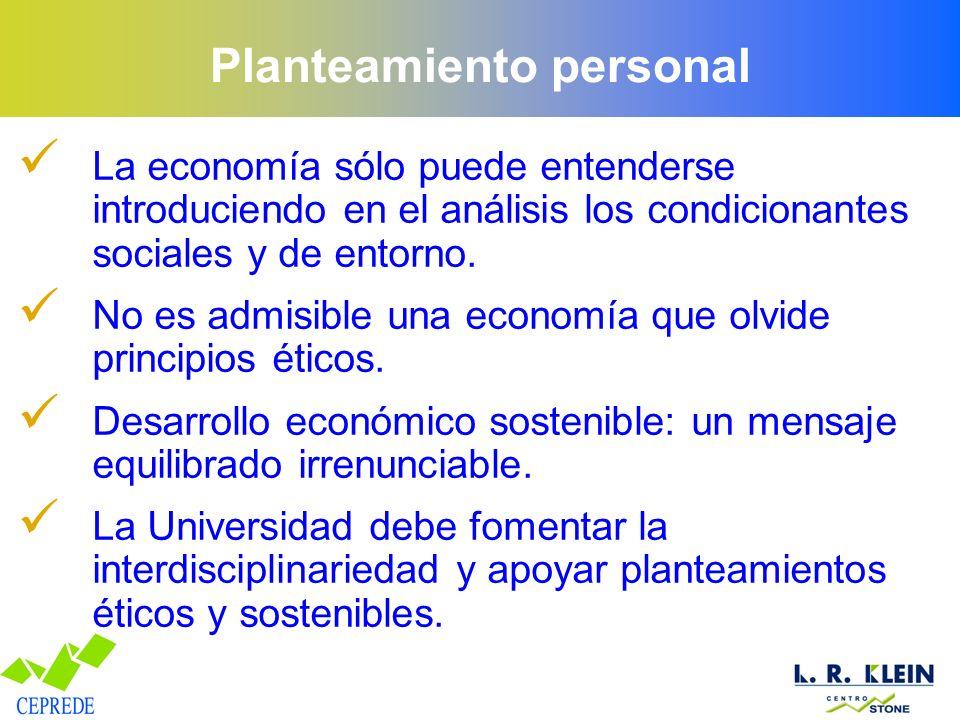 Planteamiento personal