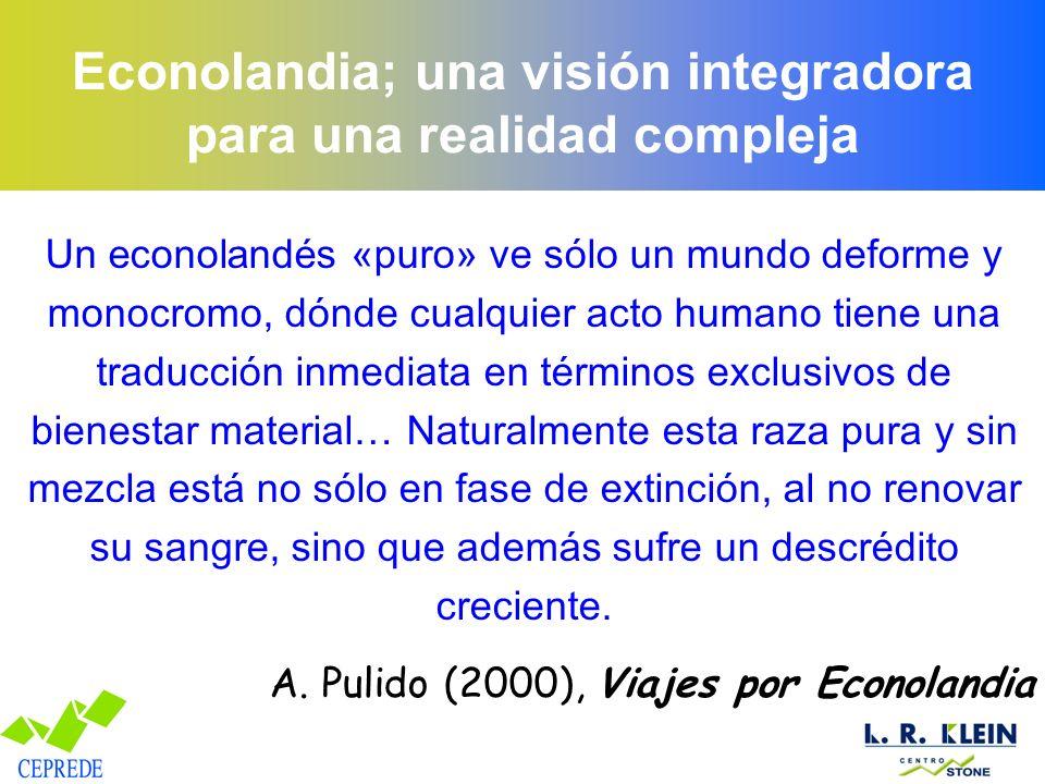 Econolandia; una visión integradora para una realidad compleja