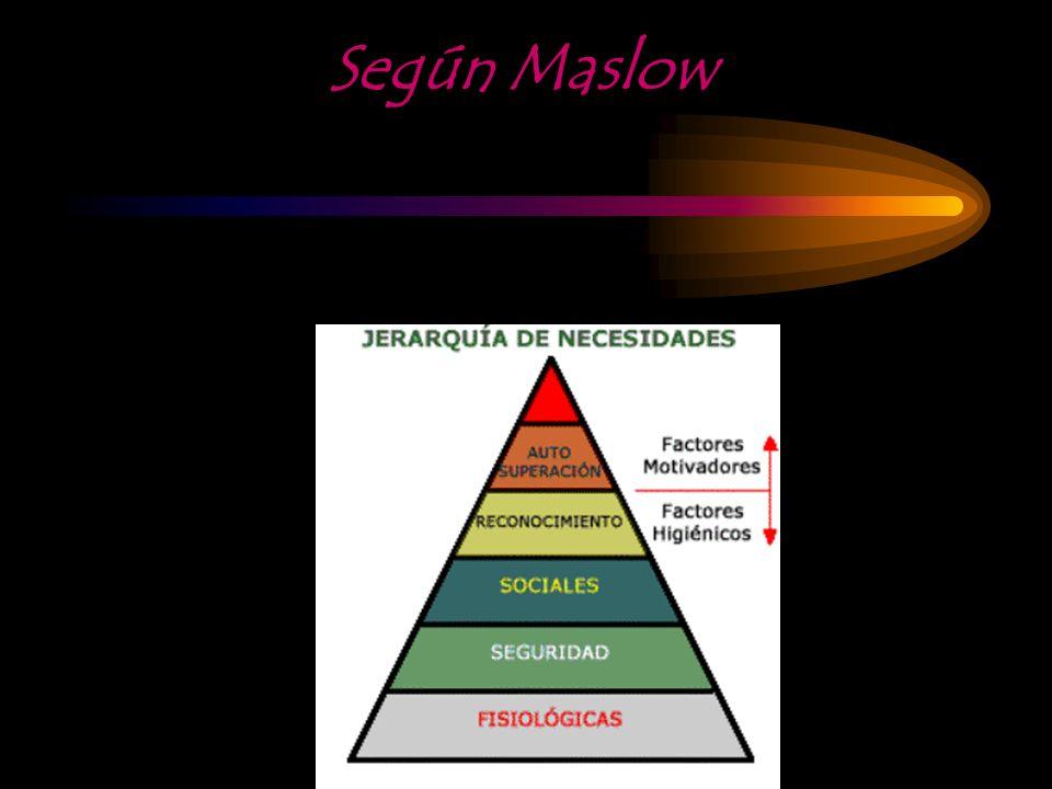 Según Maslow