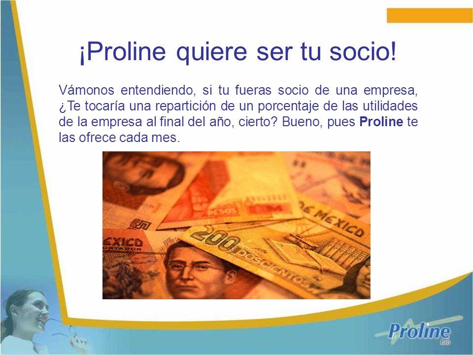 ¡Proline quiere ser tu socio!