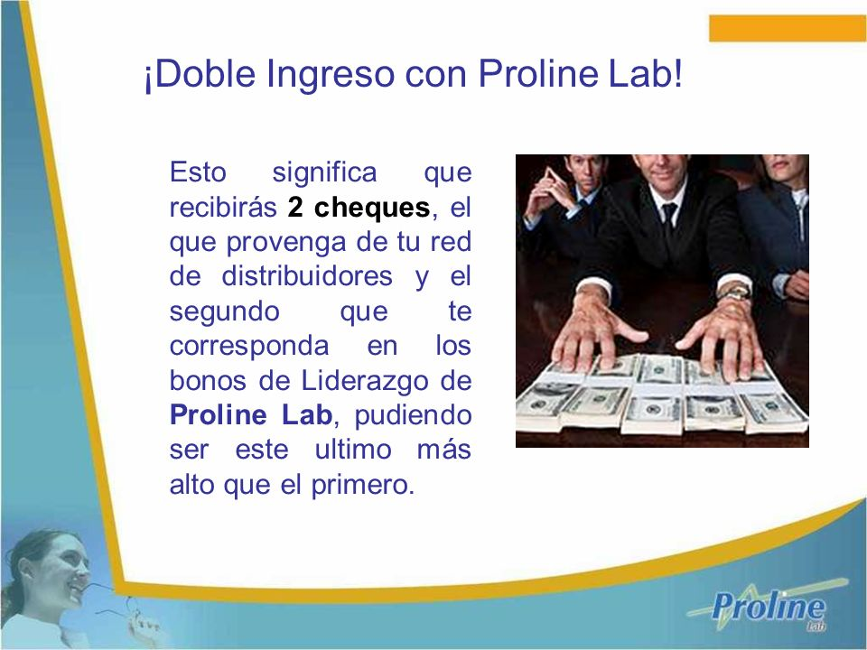 ¡Doble Ingreso con Proline Lab!