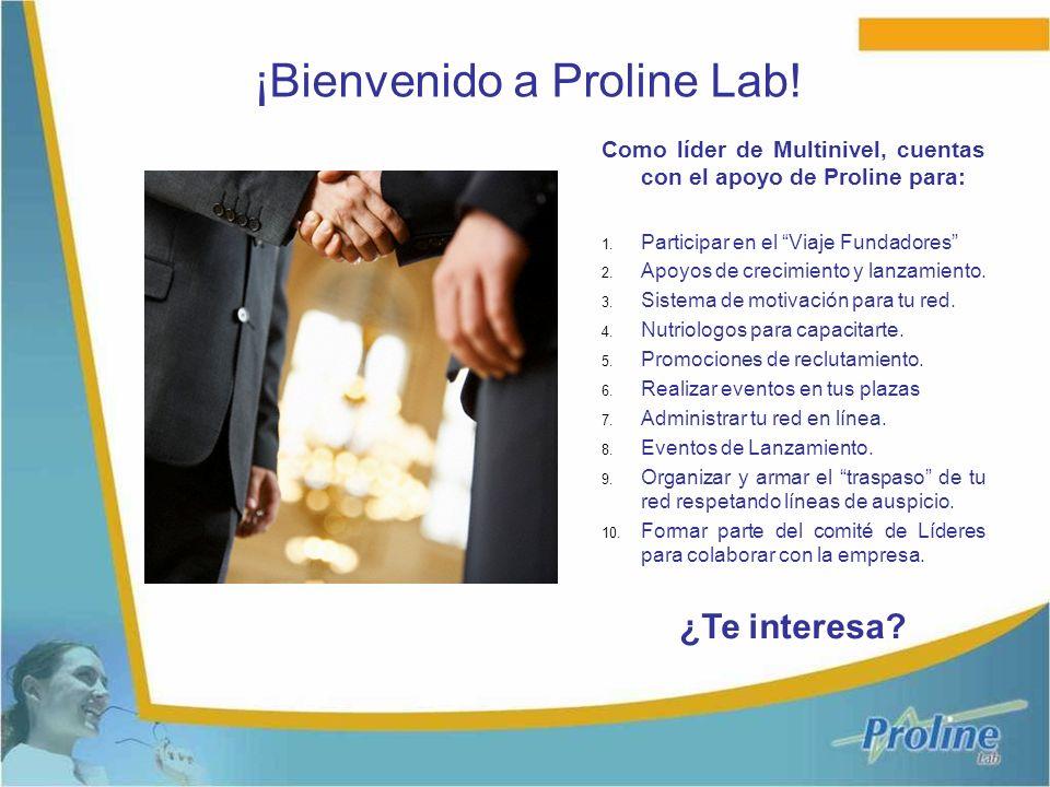 ¡Bienvenido a Proline Lab!