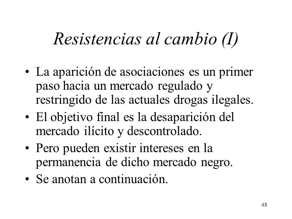 Resistencias al cambio (I)