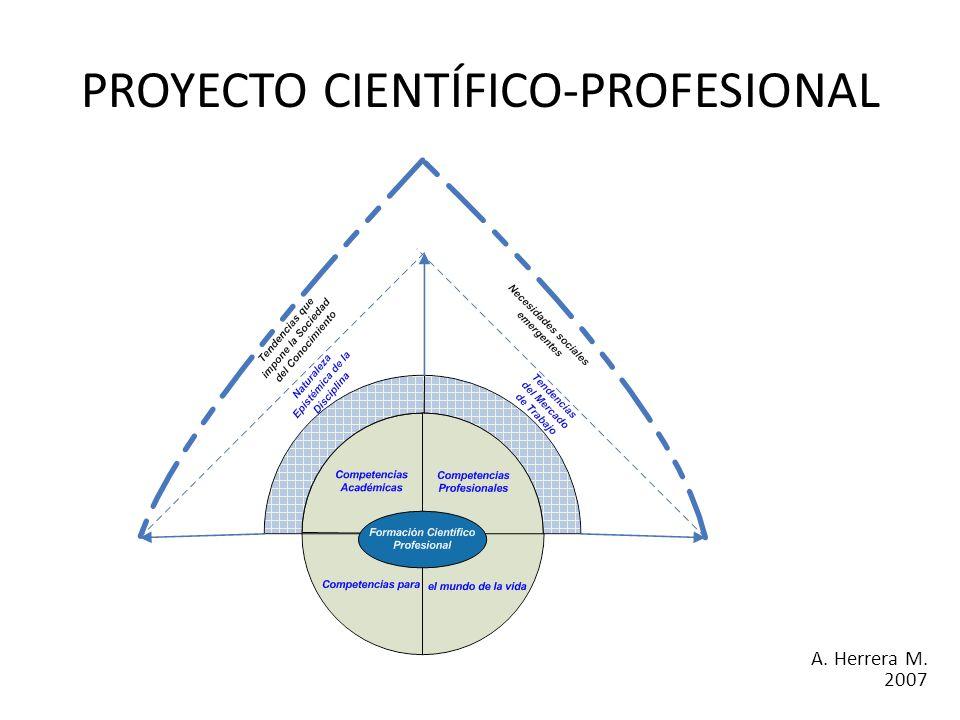 PROYECTO CIENTÍFICO-PROFESIONAL