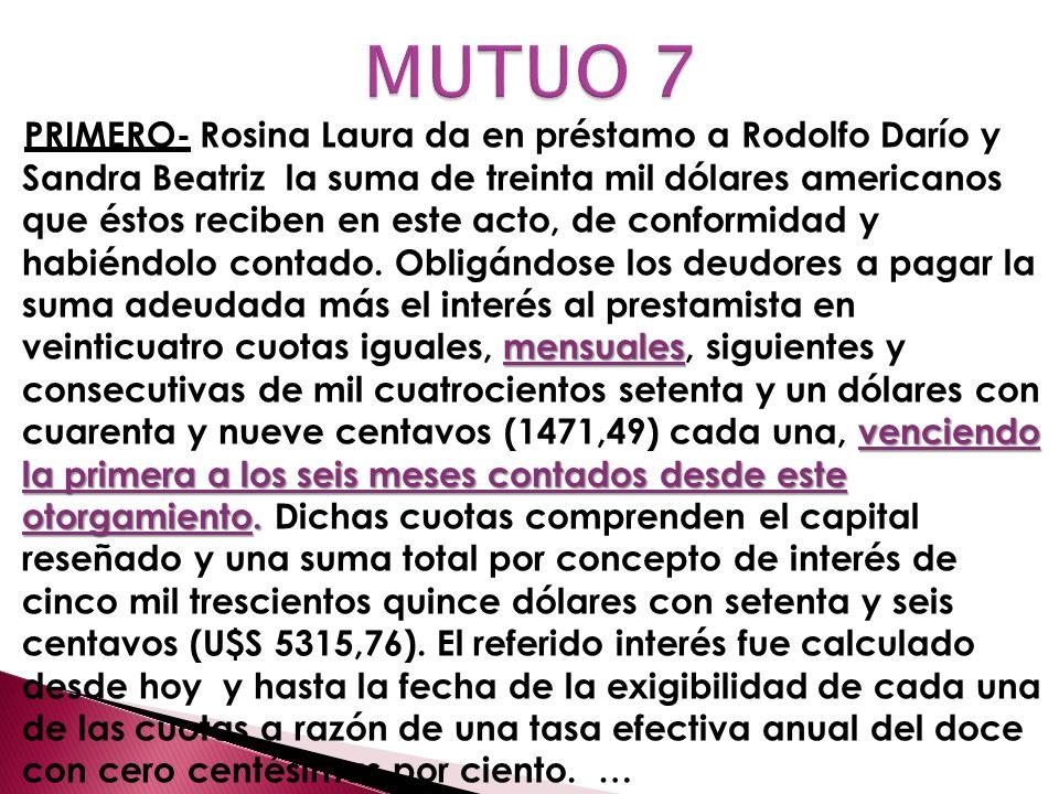 MUTUO 7