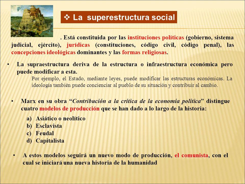 La superestructura social