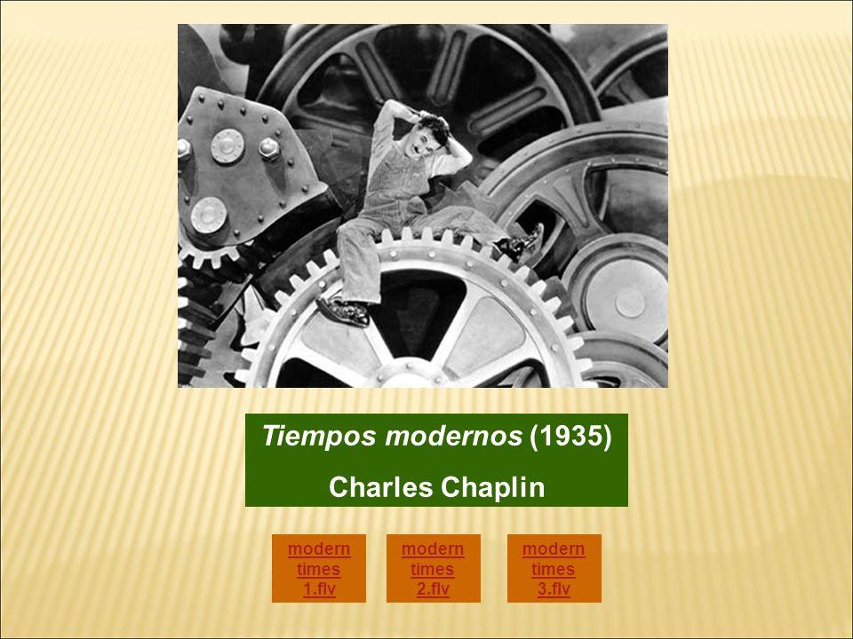 Tiempos modernos (1935) Charles Chaplin