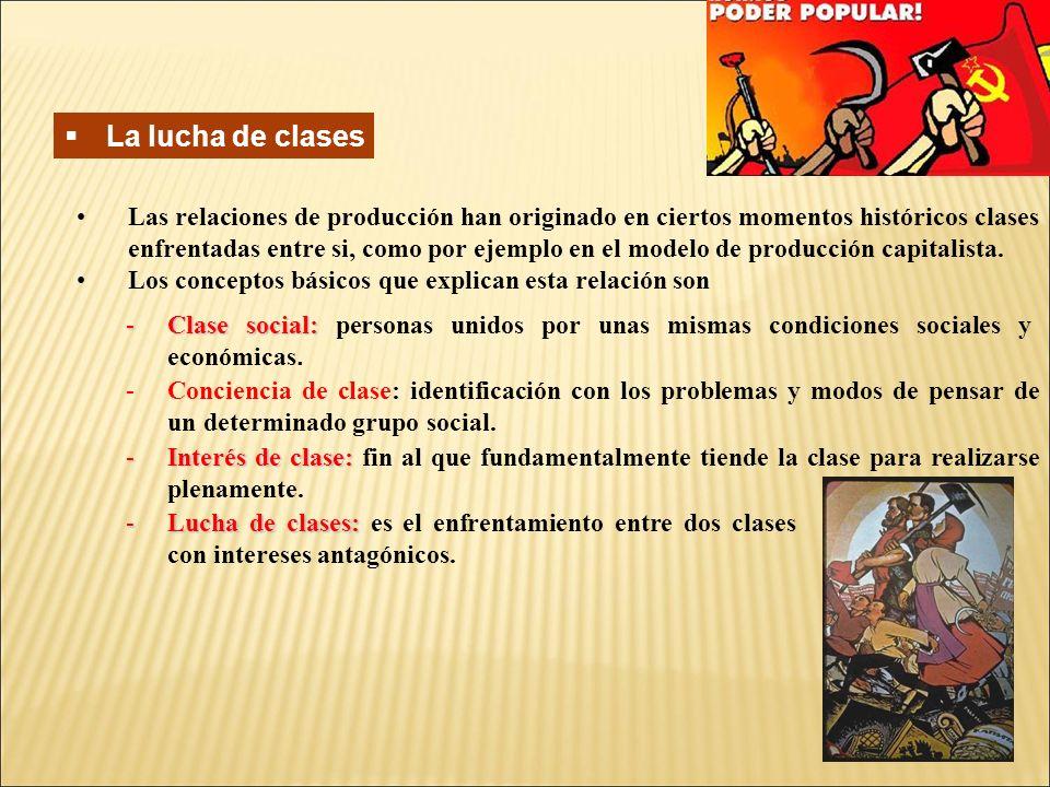 La lucha de clases