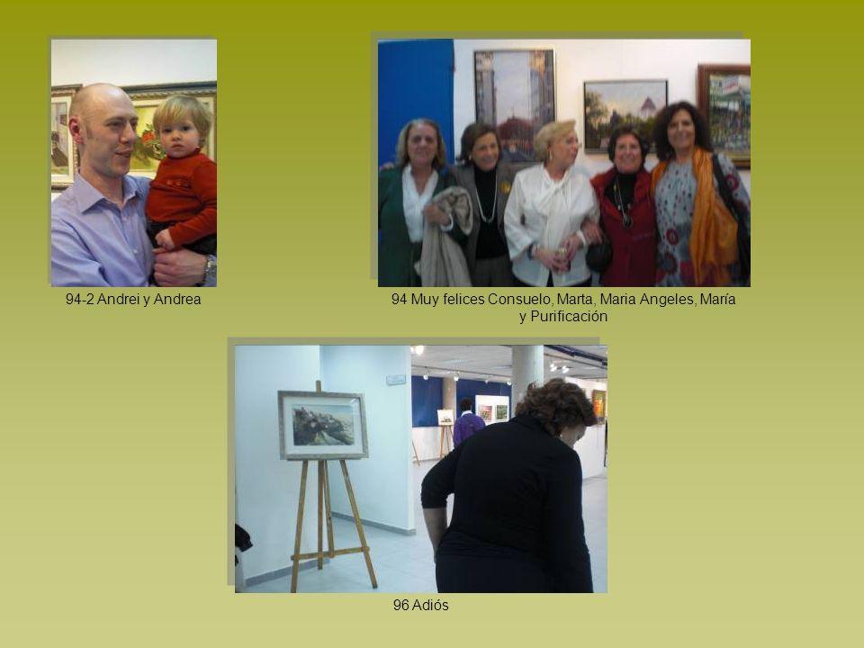 94 Muy felices Consuelo, Marta, Maria Angeles, María y Purificación
