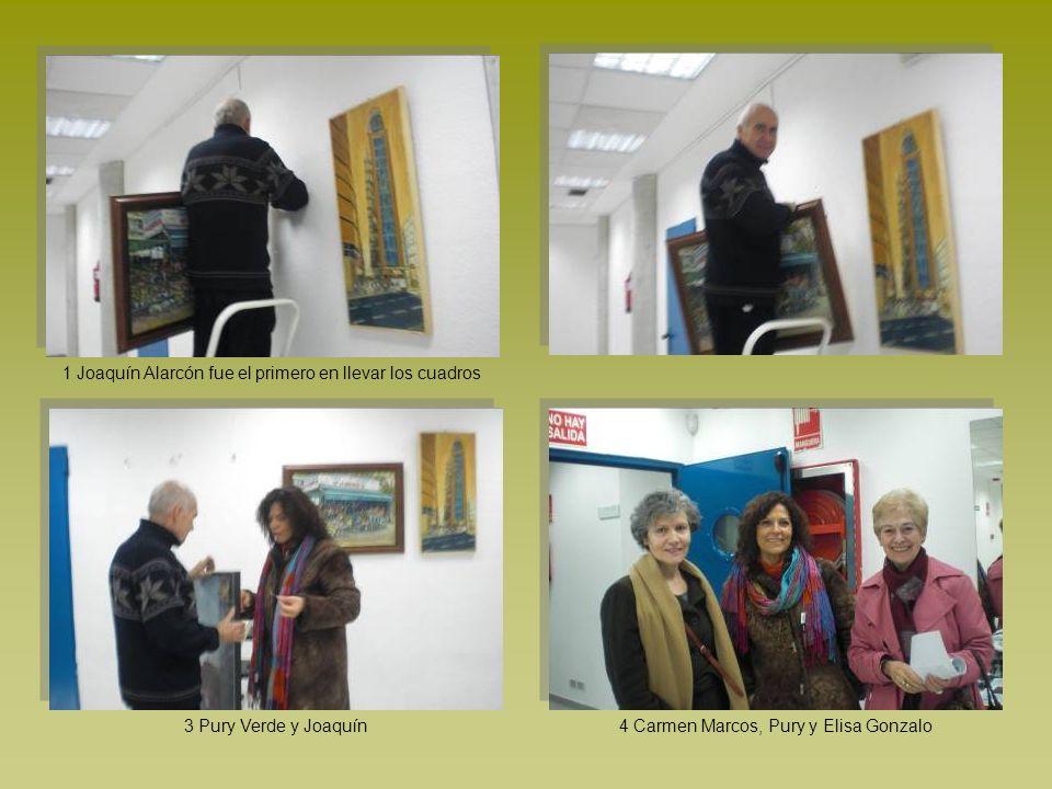1 Joaquín Alarcón fue el primero en llevar los cuadros