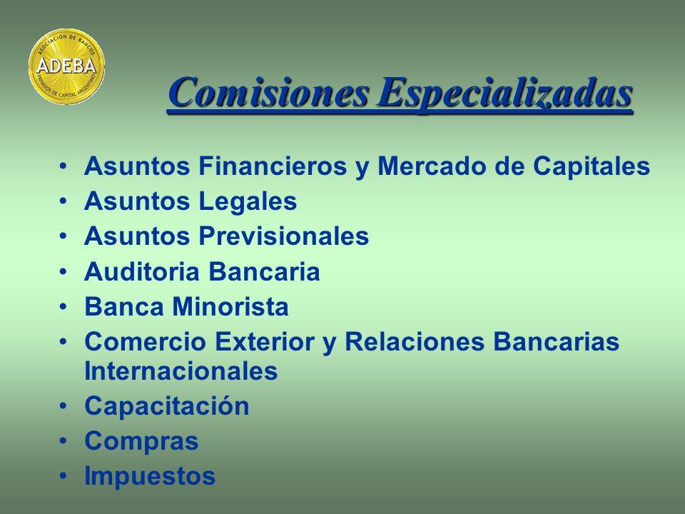 Comisiones Especializadas