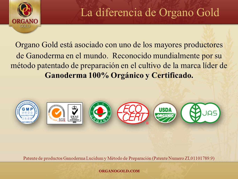 Organo Gold está asociado con uno de los mayores productores