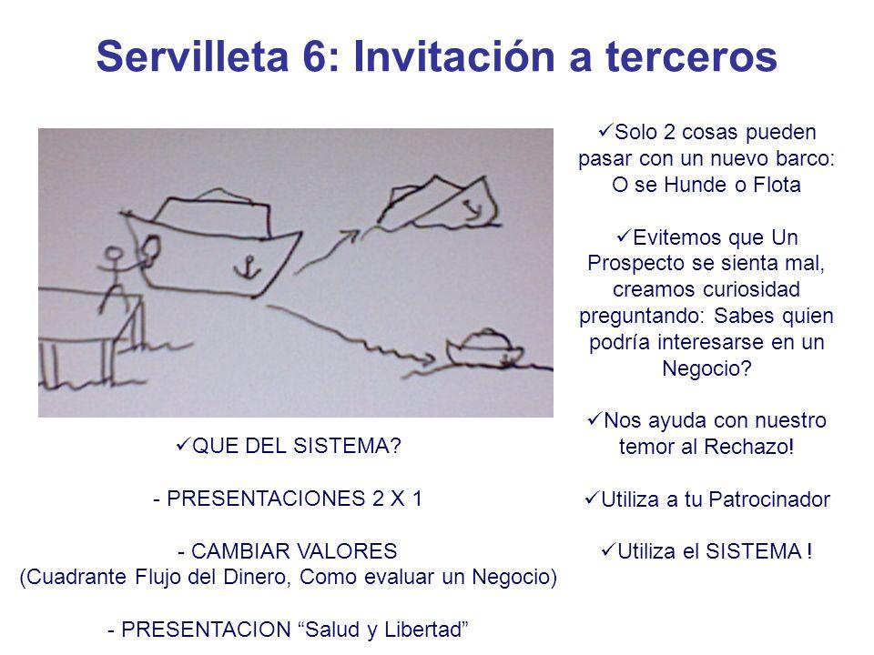 Servilleta 6: Invitación a terceros