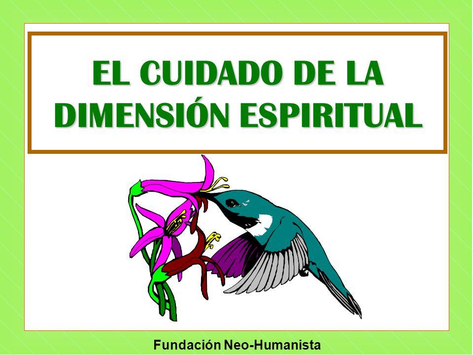 EL CUIDADO DE LA DIMENSIÓN ESPIRITUAL