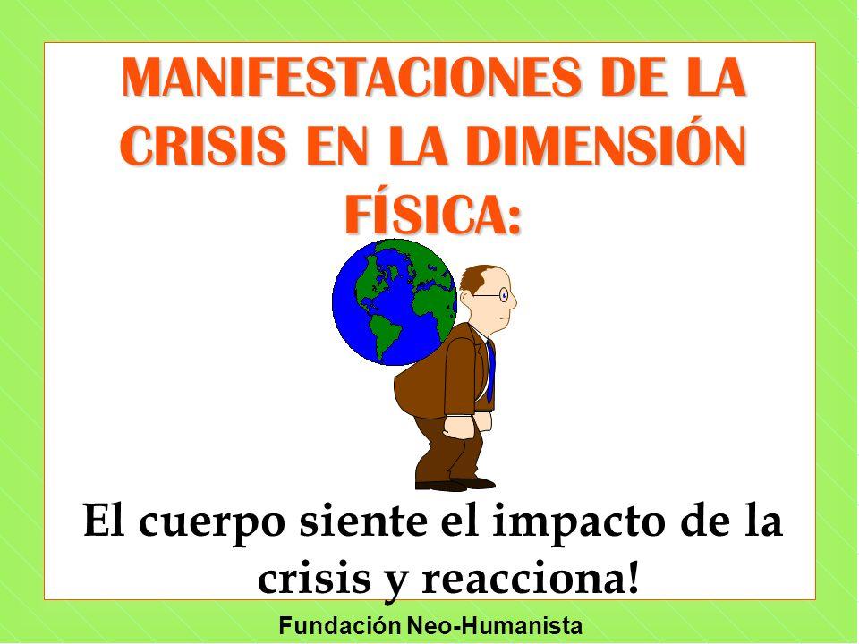 MANIFESTACIONES DE LA CRISIS EN LA DIMENSIÓN FÍSICA: