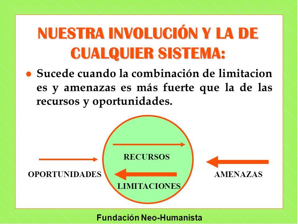 NUESTRA INVOLUCIÓN Y LA DE CUALQUIER SISTEMA: