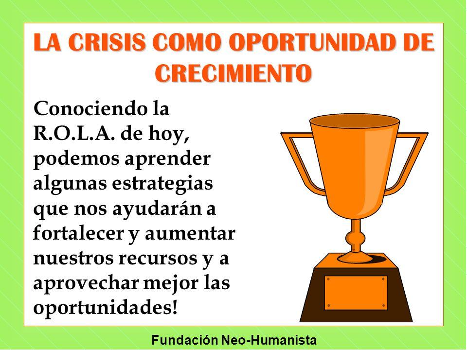 LA CRISIS COMO OPORTUNIDAD DE CRECIMIENTO
