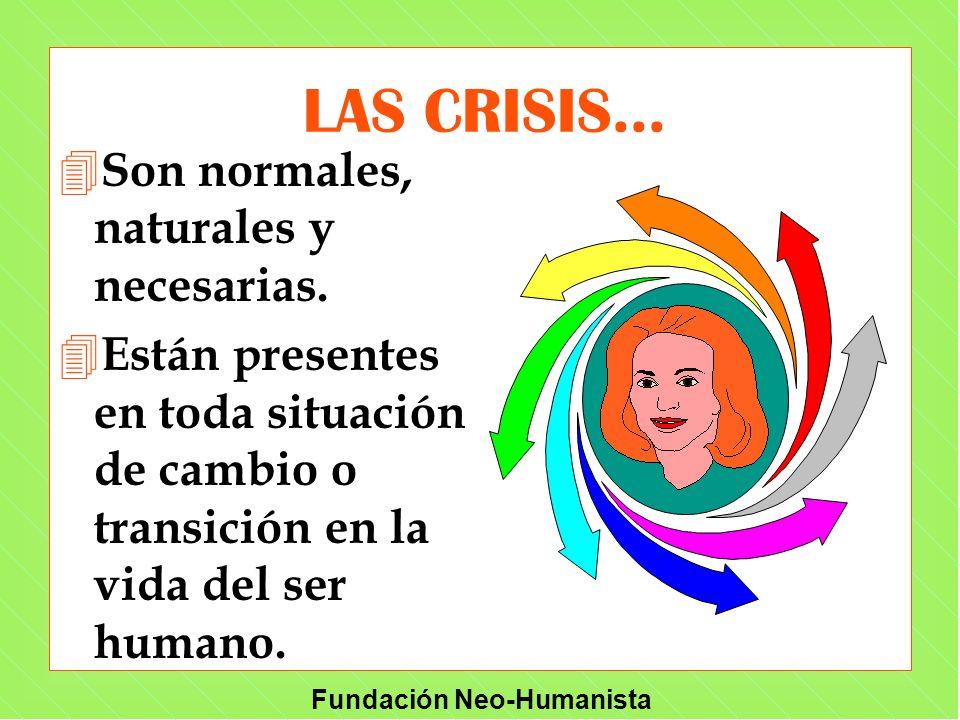 LAS CRISIS... Son normales, naturales y necesarias.