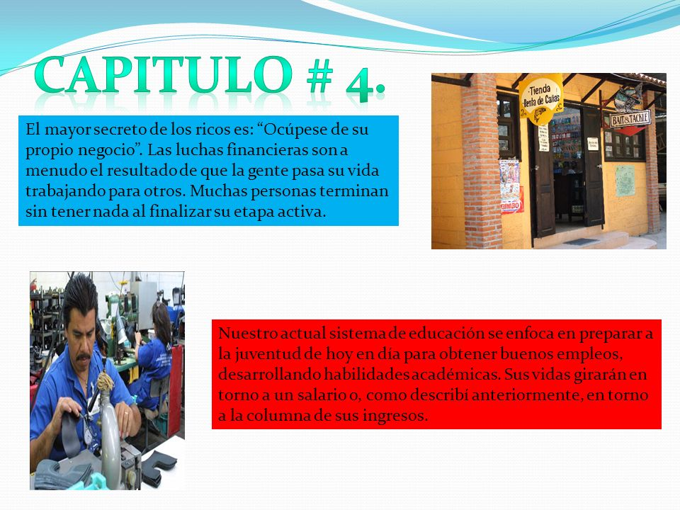 Capitulo # 4.