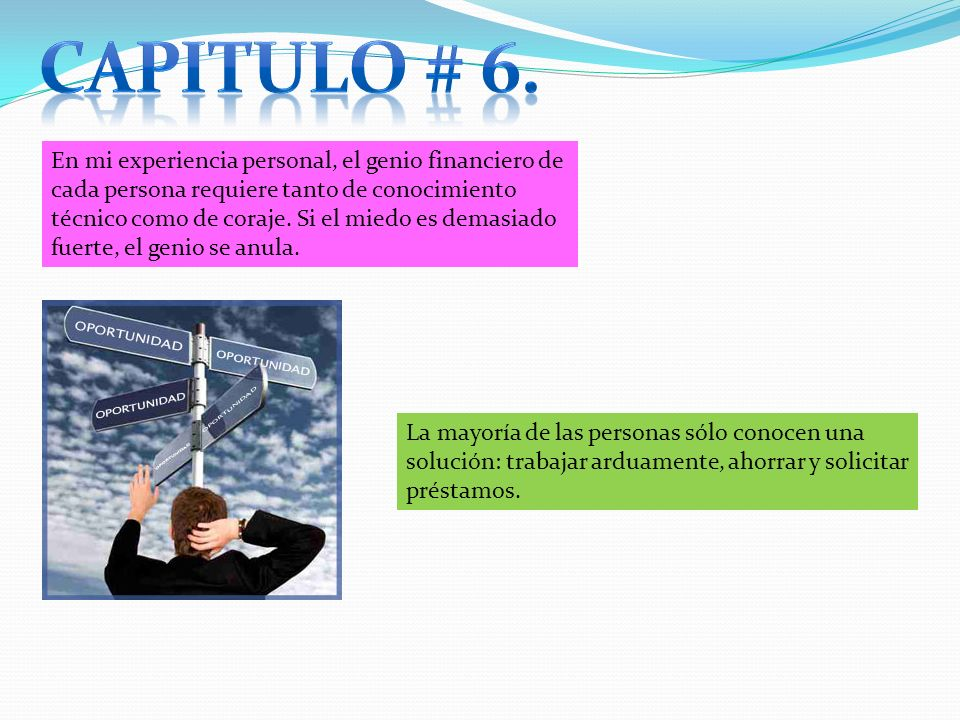 Capitulo # 6.